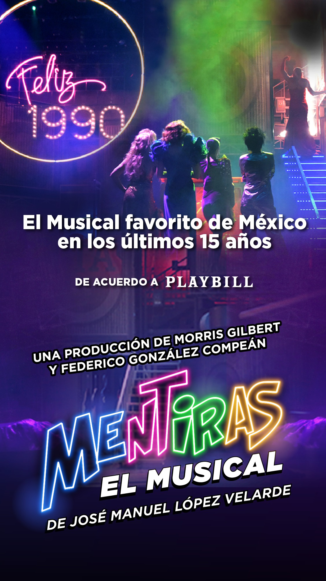 Mentiras, el musical favorito en México